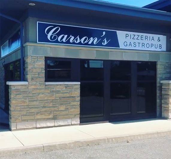 Casron's Pizza in St Catharines